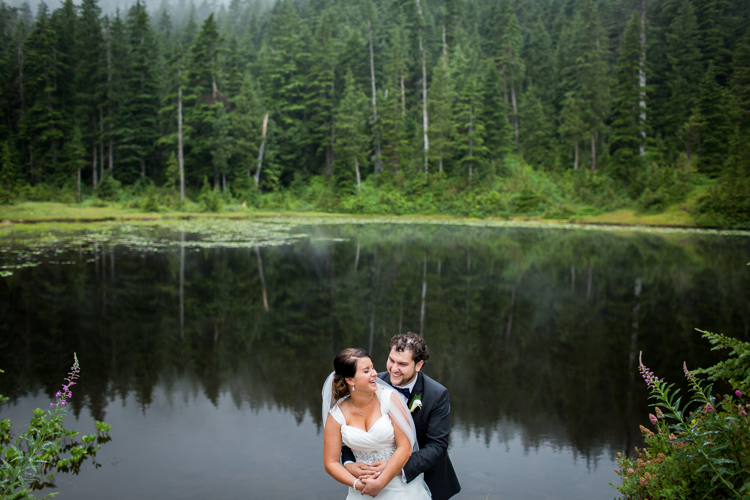 Fairmont Waterfront Wedding