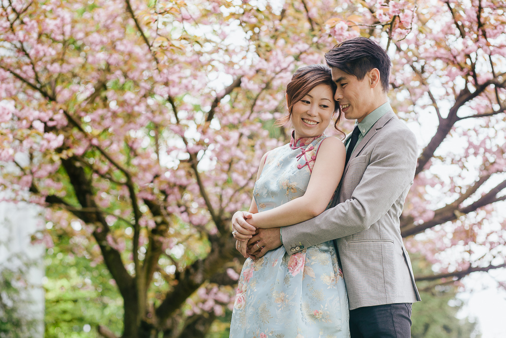 Cherry Blossom Vancouver Engagement Session-02
