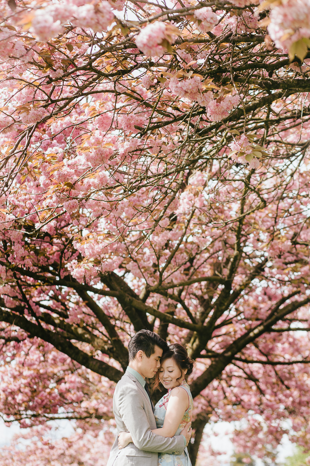 Cherry Blossom Vancouver Engagement Session-06