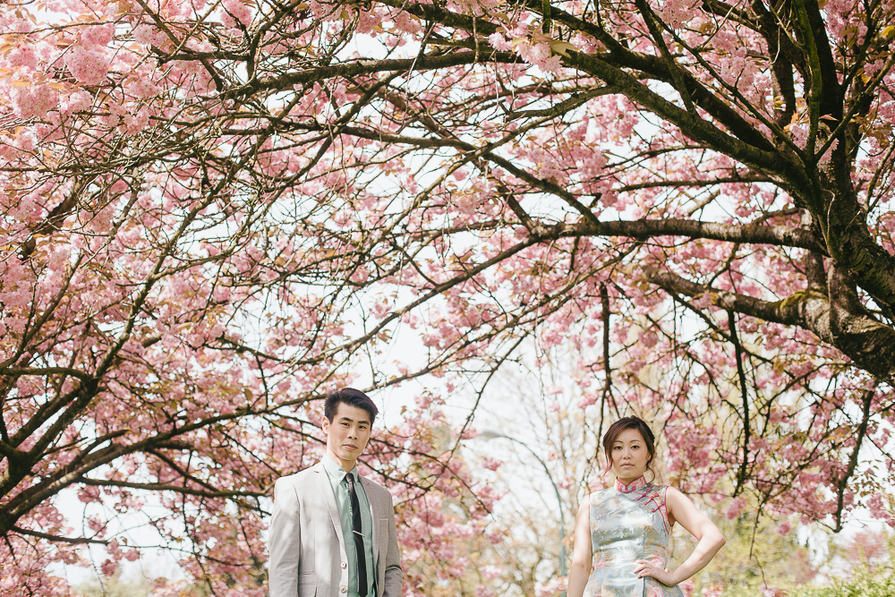 Cherry Blossom Vancouver Engagement Session-07