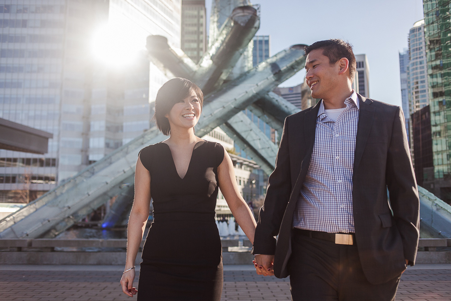 Coal Harbour Engagement Session John Bello-12