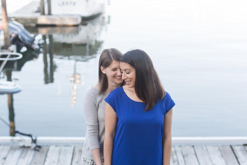 Granville Island Engagement Lesbian Wedding-04