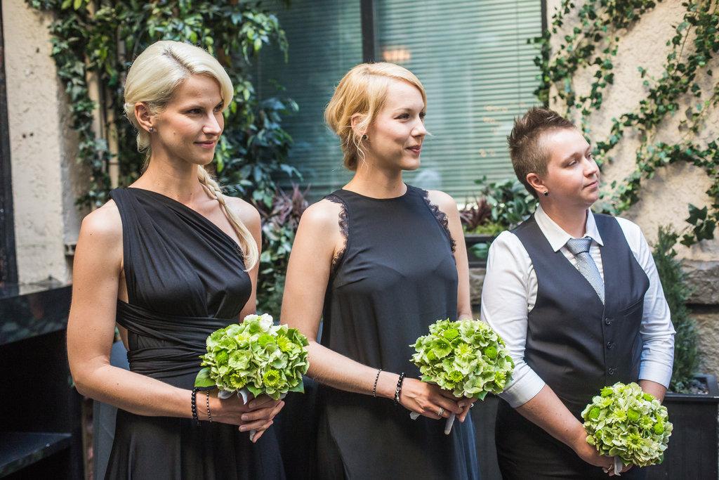 Brix Restaurant Lesbian Wedding-24