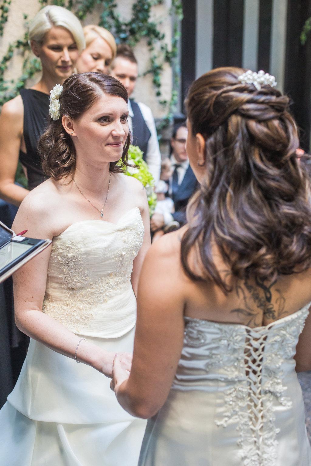 Brix Restaurant Lesbian Wedding-26