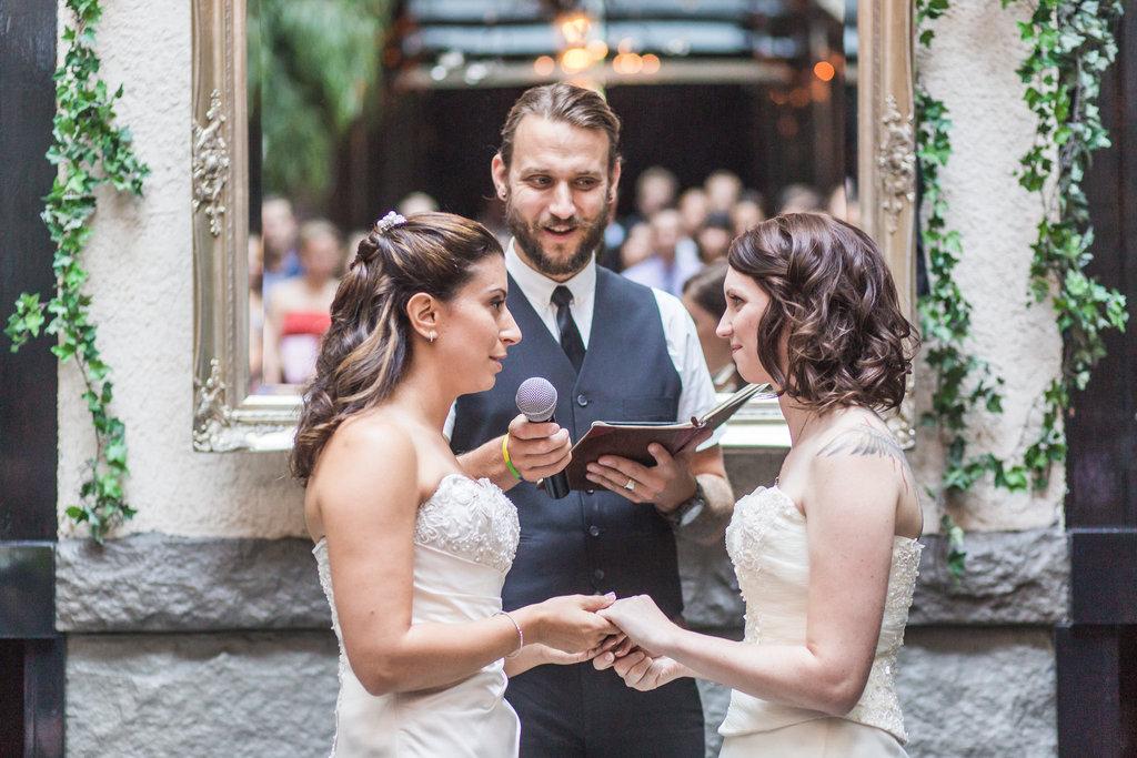 Brix Restaurant Lesbian Wedding-32