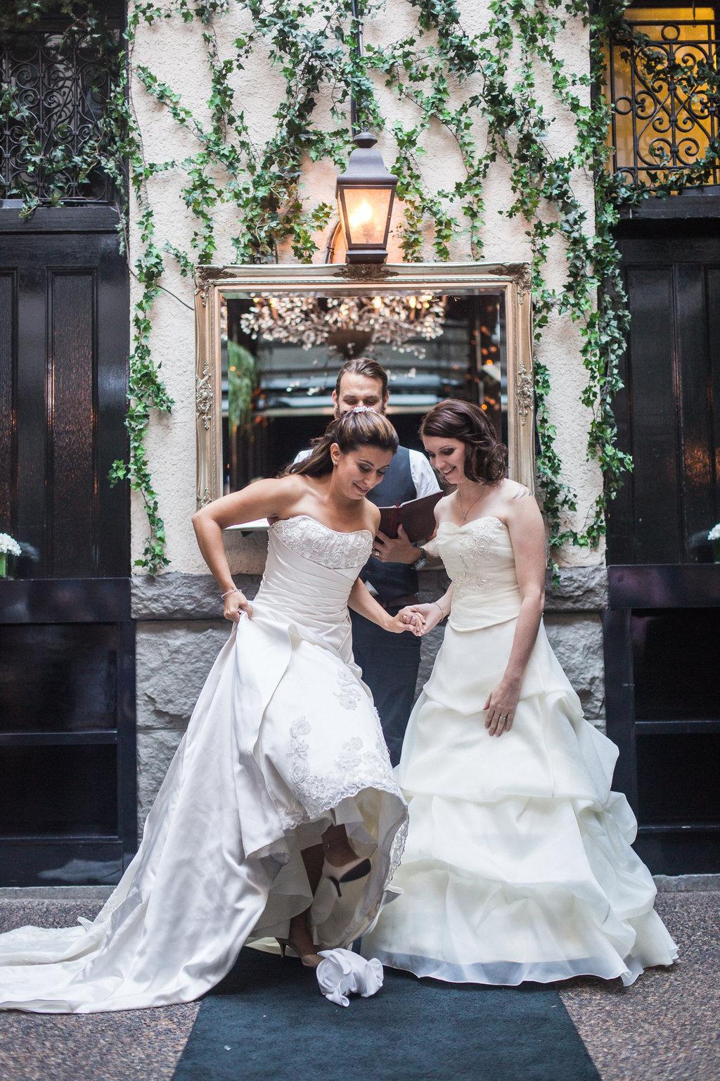Brix Restauran Lesbian Wedding-33