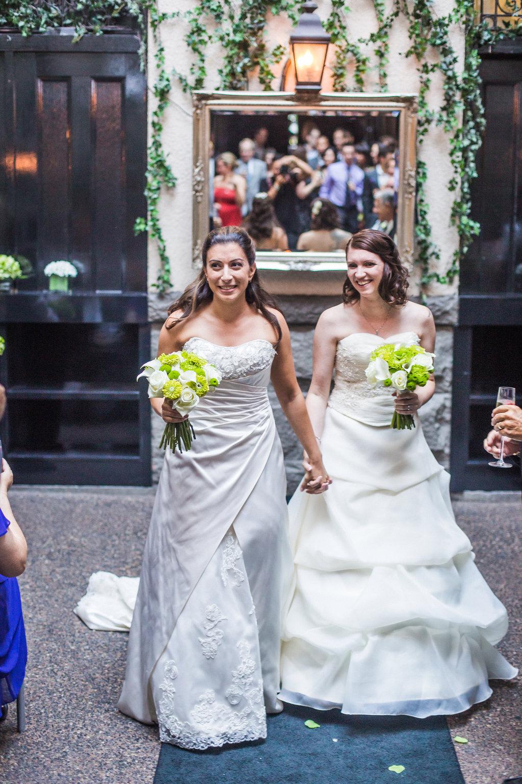 Brix Restauran Lesbian Wedding-35