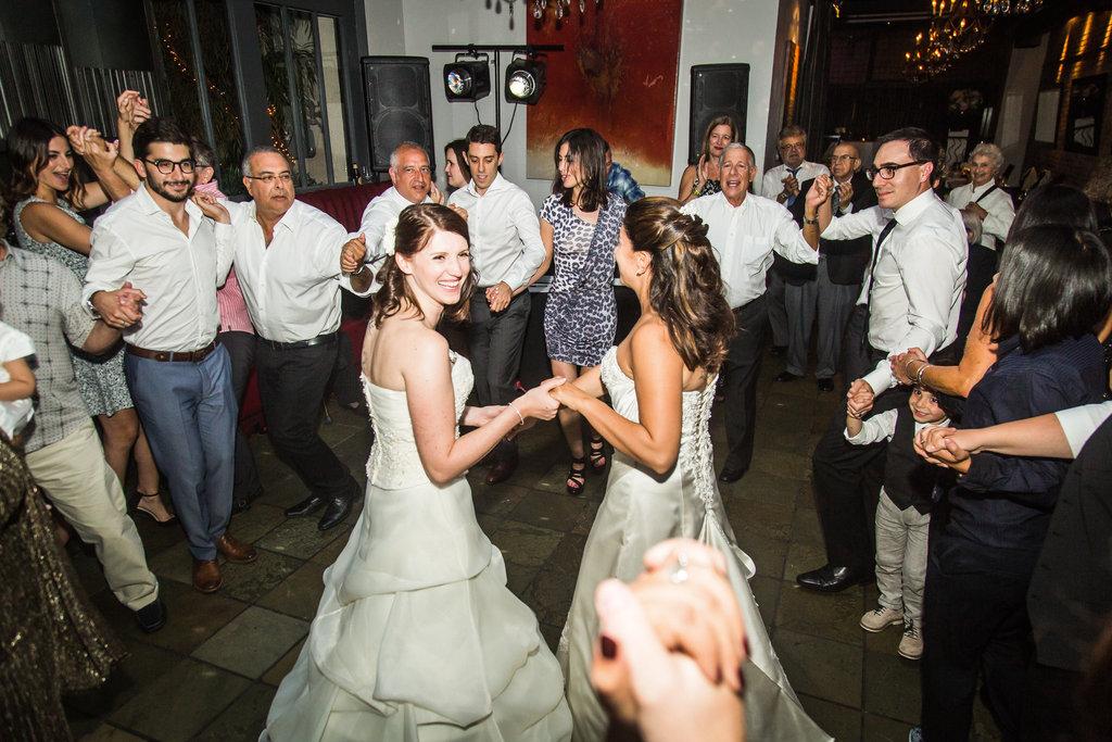 Brix Restaurant Lesbian Wedding-53
