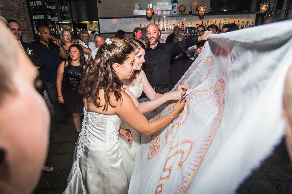 Brix Restaurant Lesbian Wedding-56