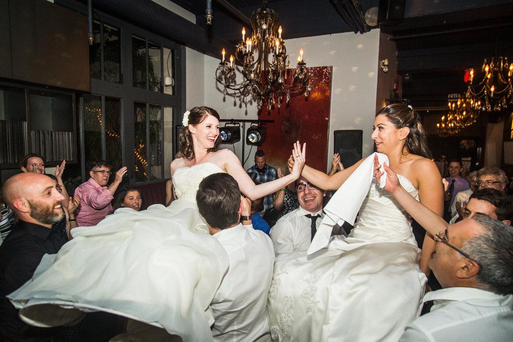 Brix Restaurant Lesbian Wedding-60