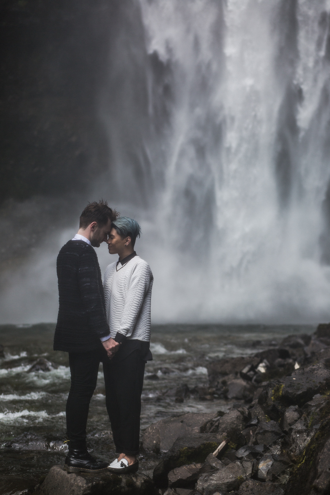 Brandywine Falls Engagement Gay wedding -05
