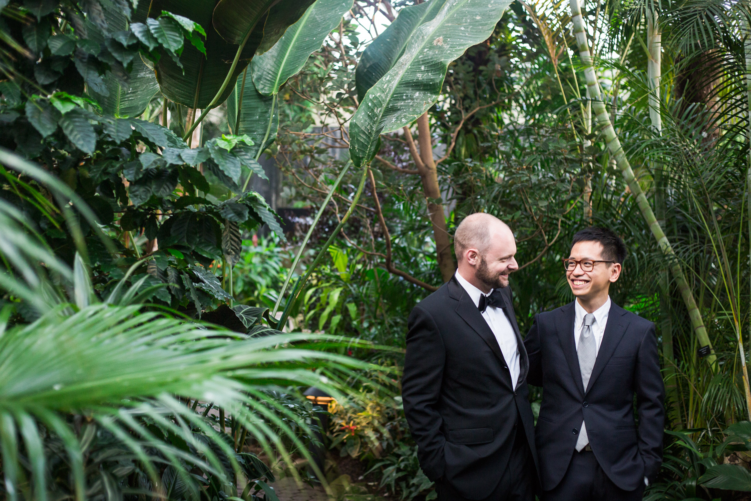Gay wedding in Vancouver