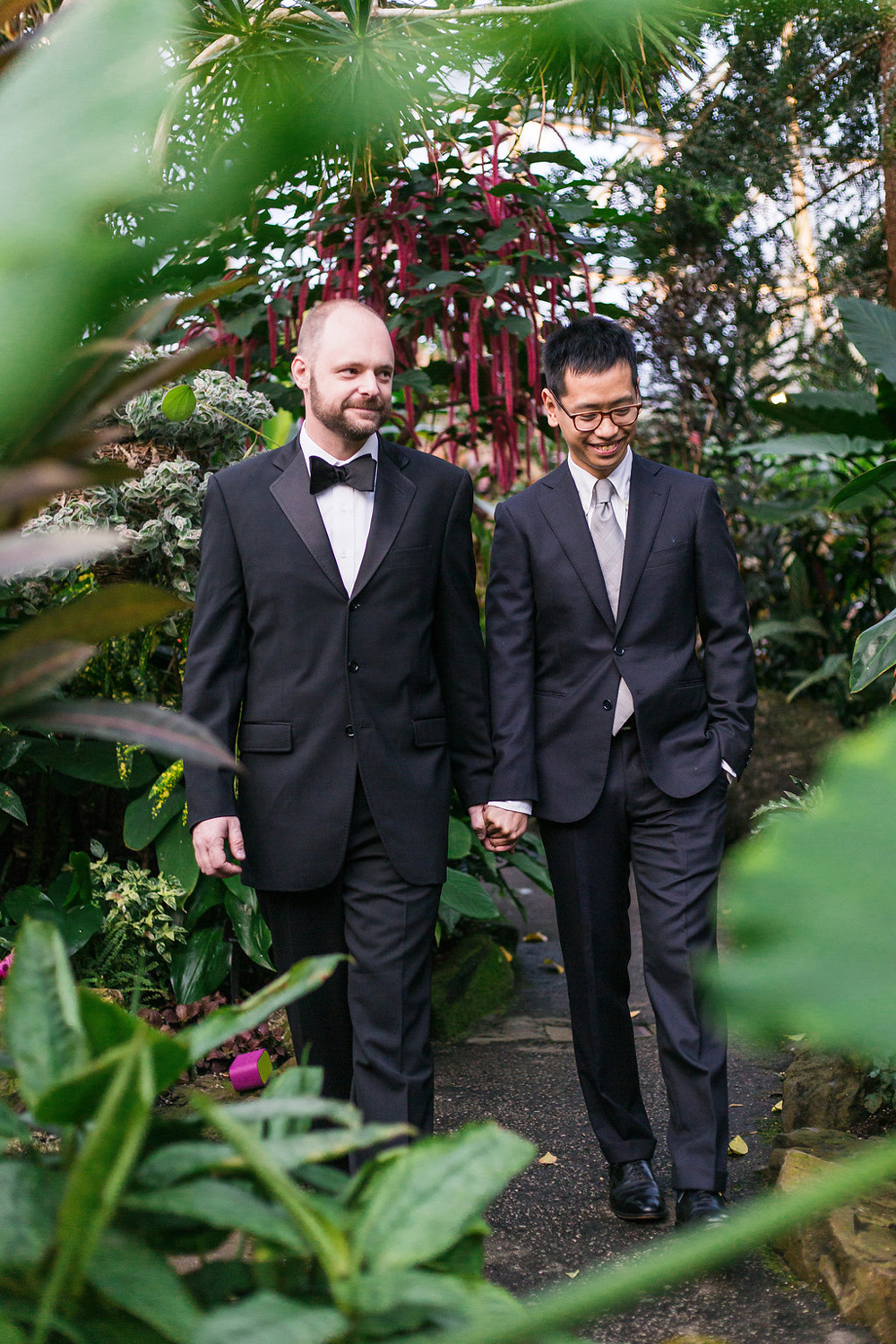 Gay Wedding at Bloedel Conservatory-09