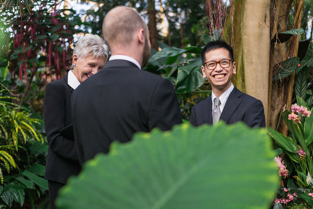Gay Wedding at Bloedel Conservatory-12