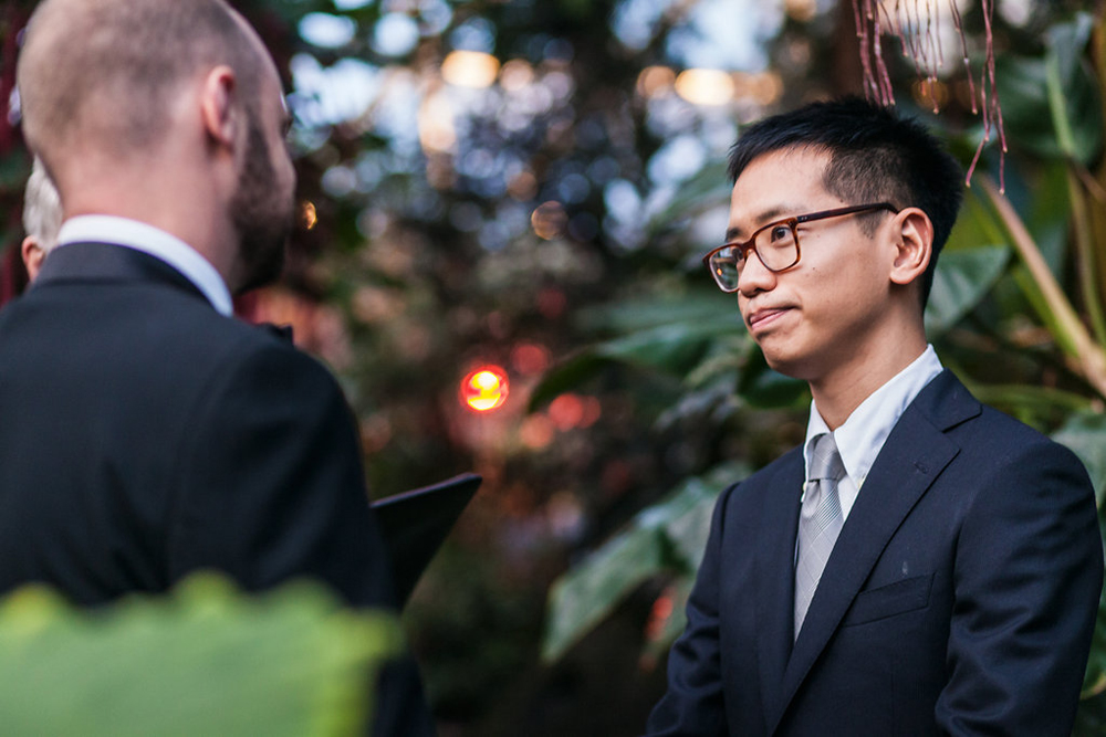Gay Wedding at Bloedel Conservatory-17