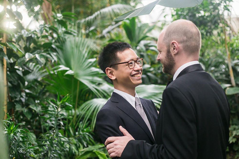 Gay Wedding at Bloedel Conservatory-25
