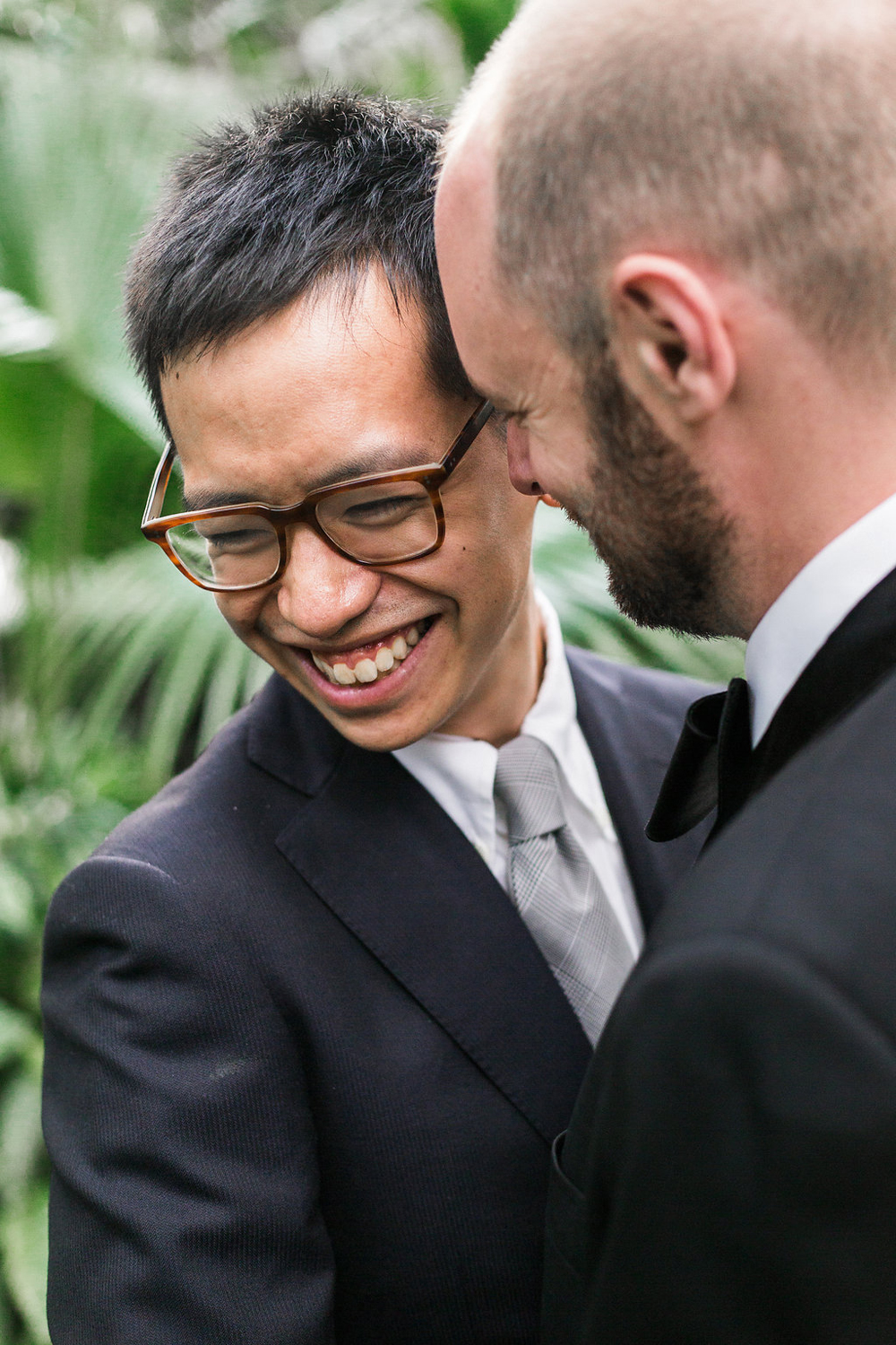 Gay Wedding at Bloedel Conservatory-28
