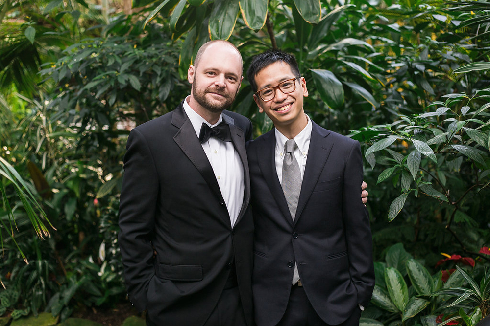 Gay Wedding at Bloedel Conservatory-29