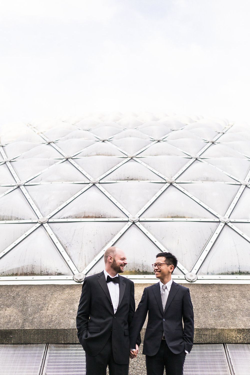 Gay Wedding at Bloedel Conservatory-33