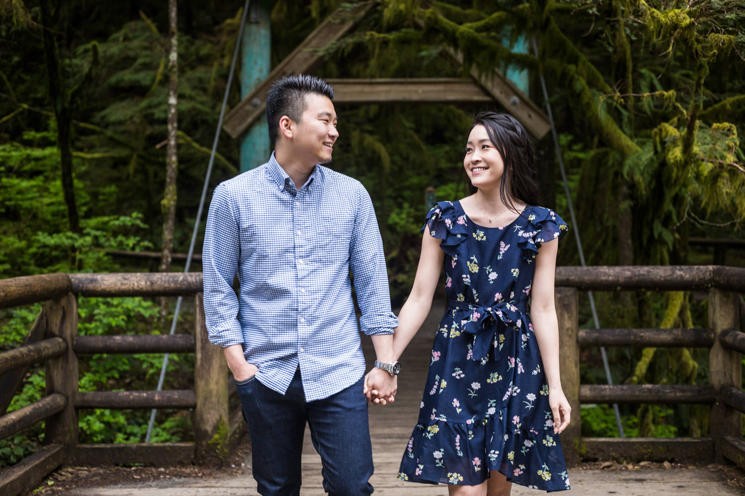 Capilano River Engagement May (1 of 7)