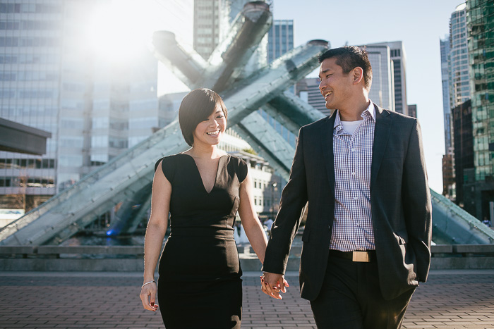 VANCOUVER ENGAGEMENT PHOTOGRAPHER | COAL HARBOUR LOVE PREVIEW