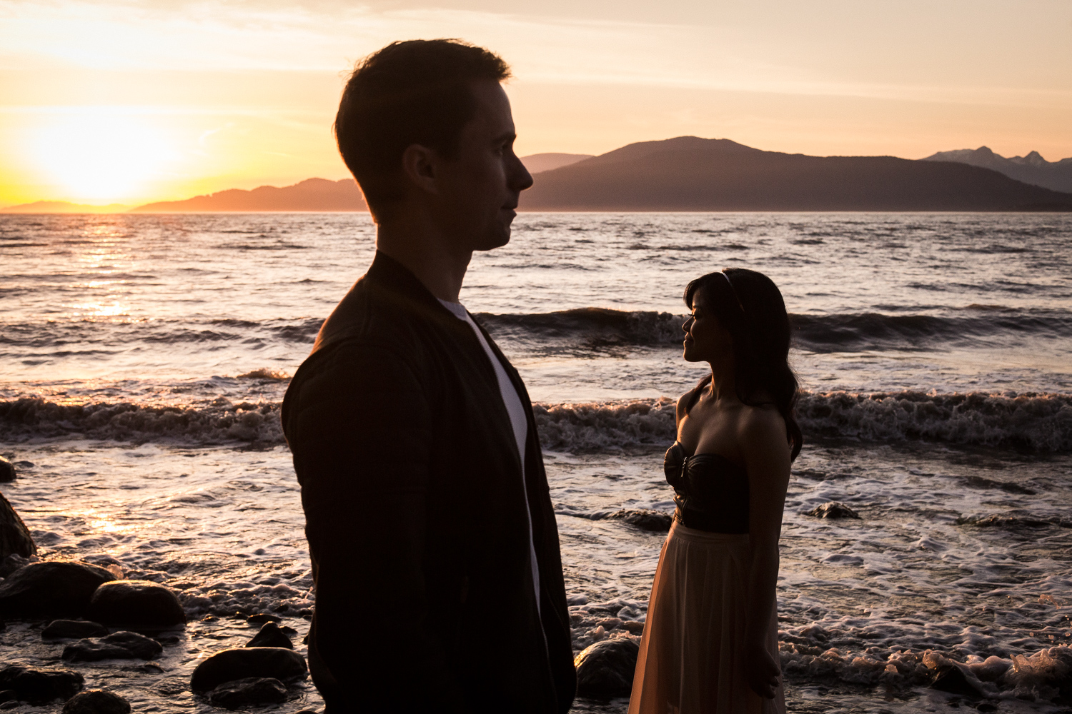 SPANISH BANKS ENGAGEMENT – DAVE & CERYS