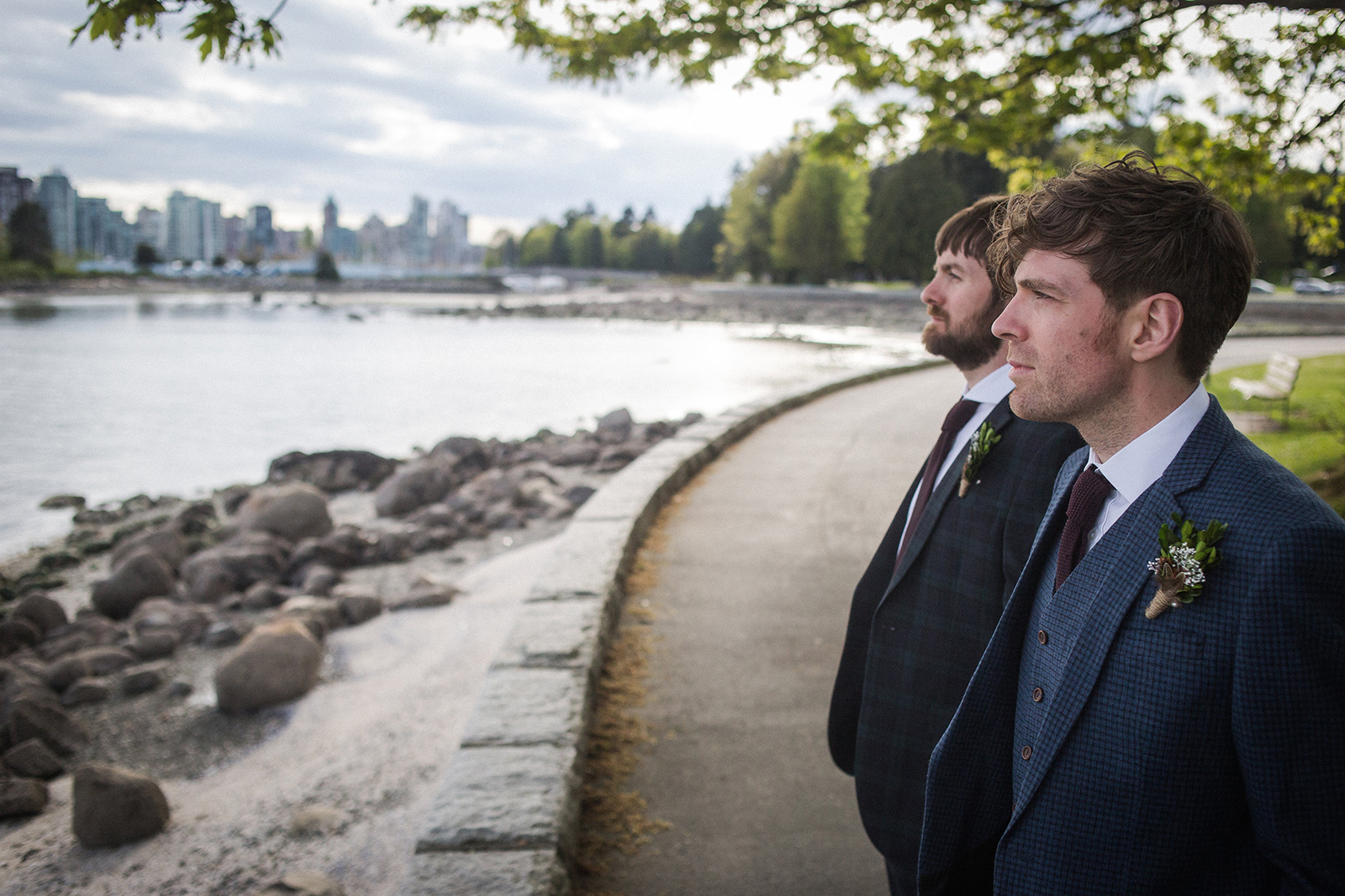 VANCOUVER GAY ELOPEMENT – KIRK & MICHAEL