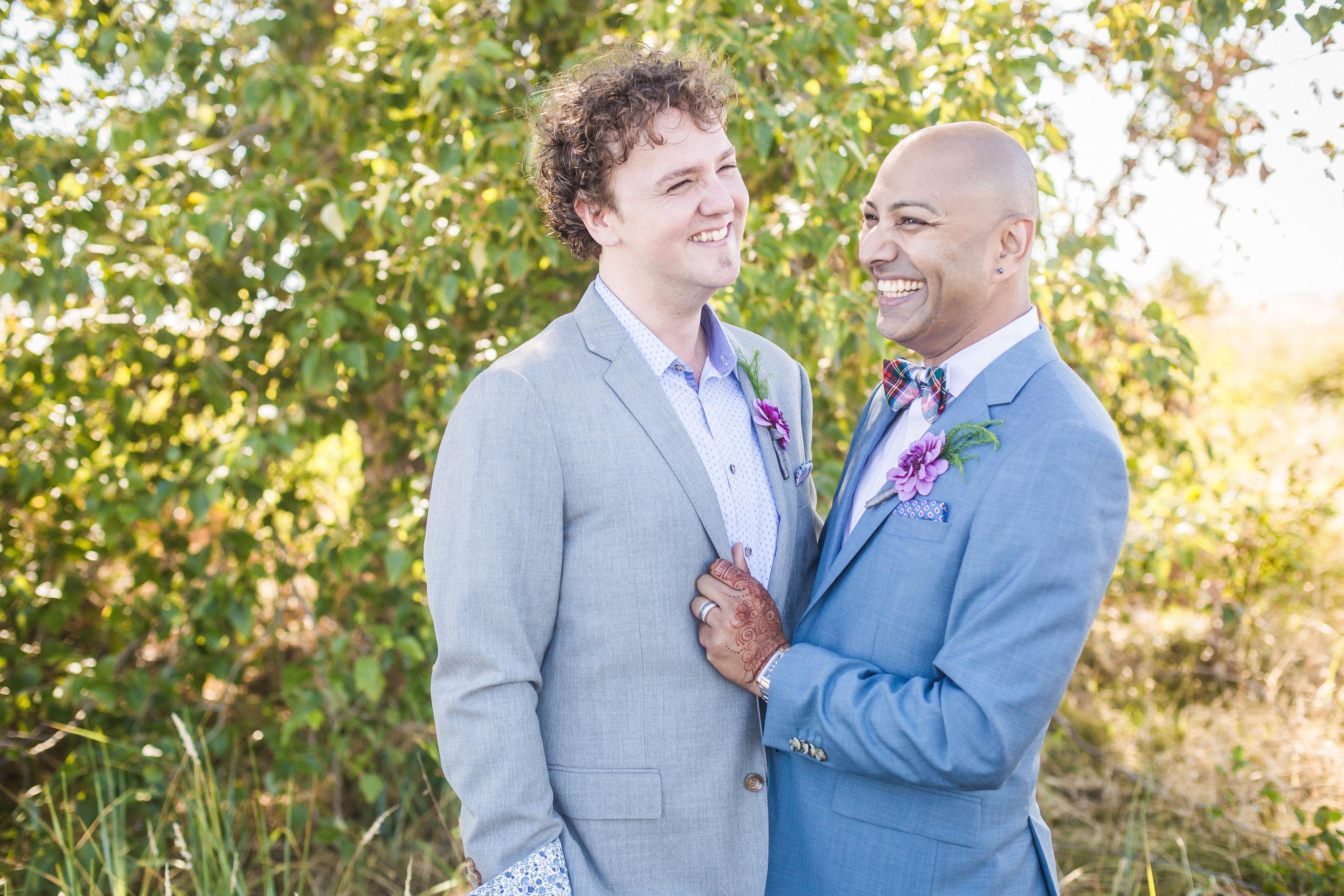 IONA BEACH VANCOUVER GAY WEDDING – MARKO & JOSH