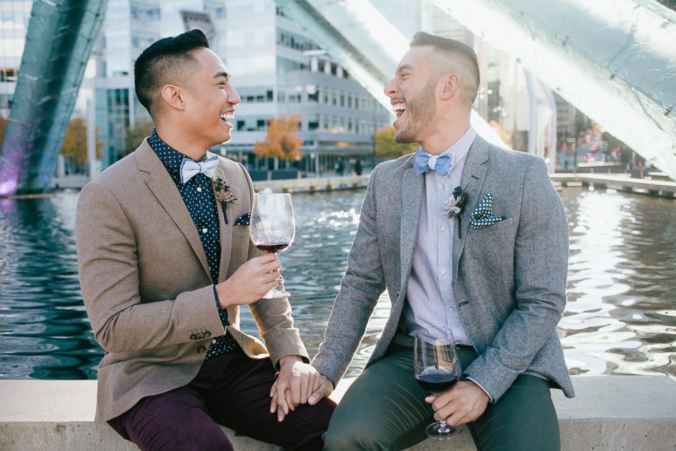 John Bello Gay Wedding