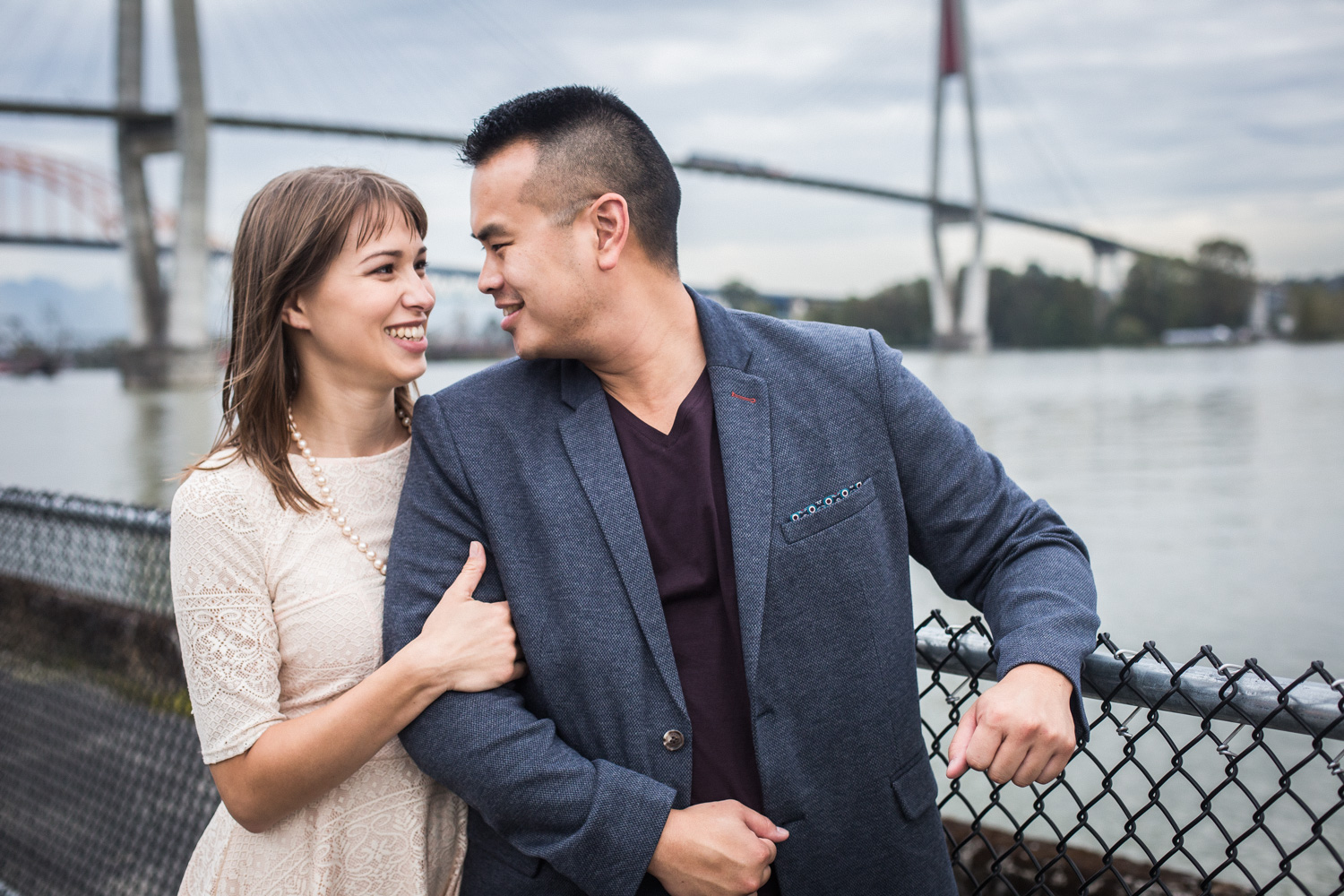 NEW WESTMINSTER QUAY ENGAGEMENT – TONY & RACHEL