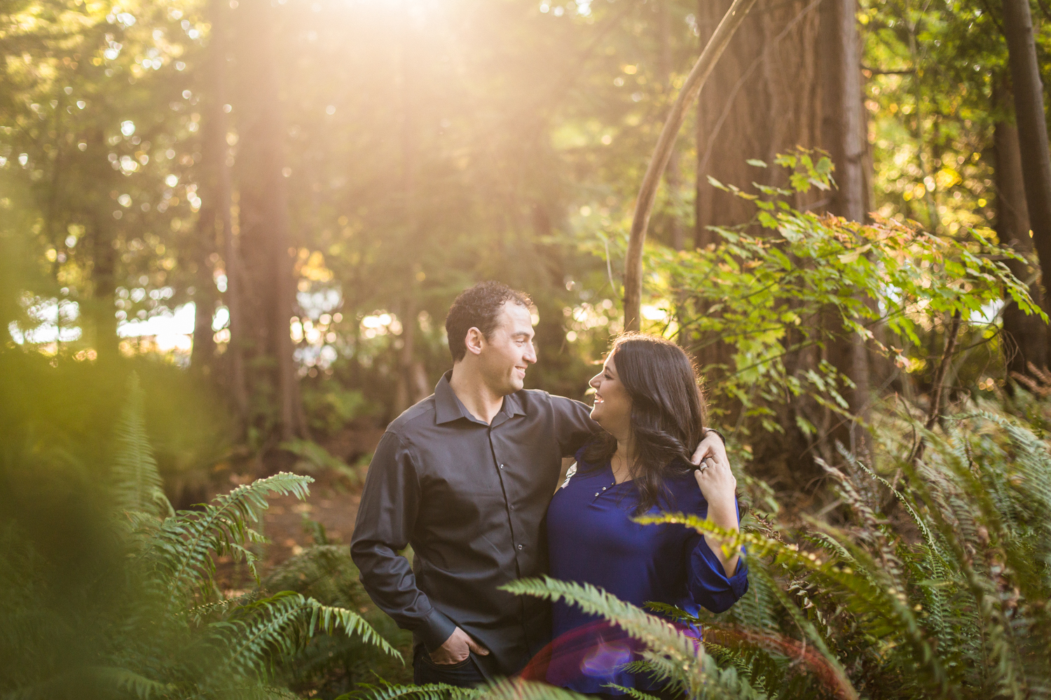 STANLEY PARK ENGAGEMENT – LISA & DAVID