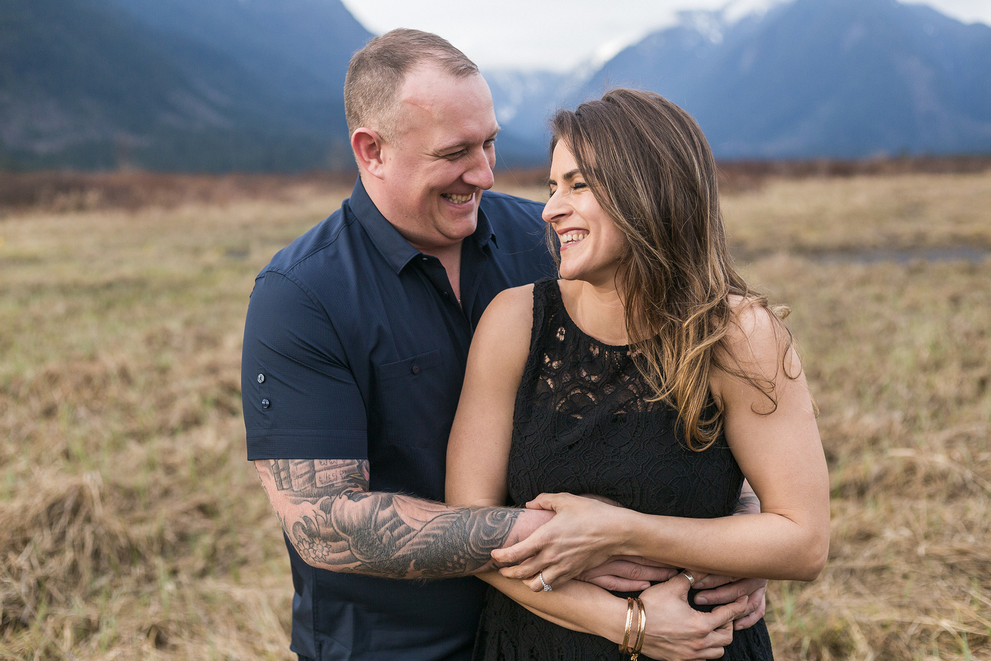 ENGAGEMENT AT PITT LAKE – DAMIAN & ANDREA