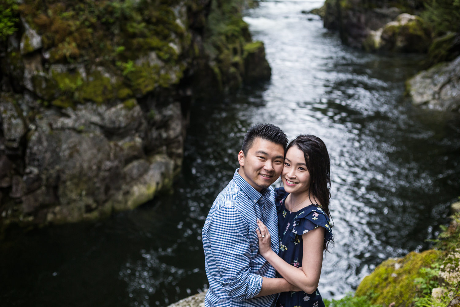 ENGAGEMENT AT CAPILANO RIVER – YUUMI & KEITH