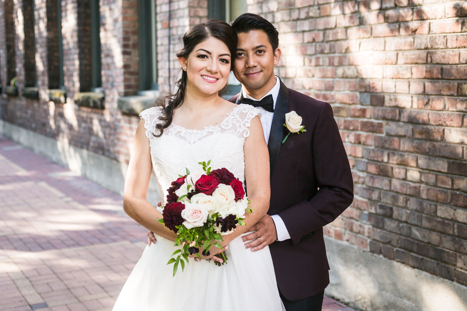 XAVIERA & RJ'S BRIX & MORTAR WEDDING