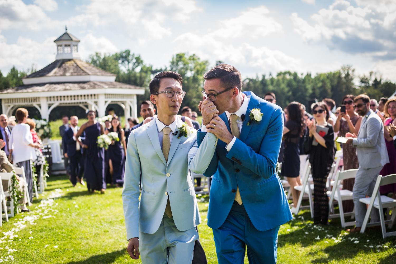 Gay Wedding Riverbend Inn (13 of 28)