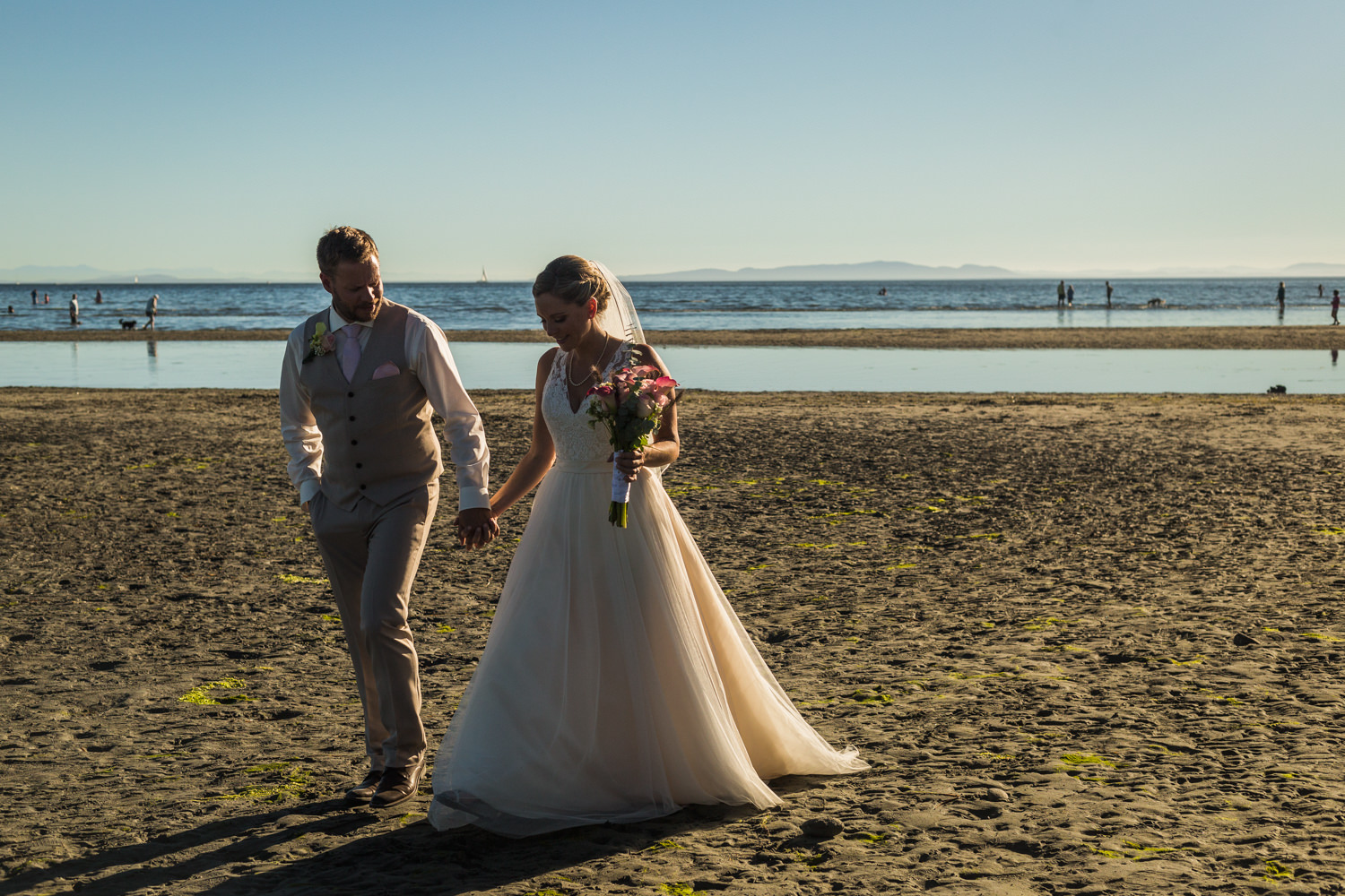 WHITE ROCK WEDDING – KRISTEN & KIM