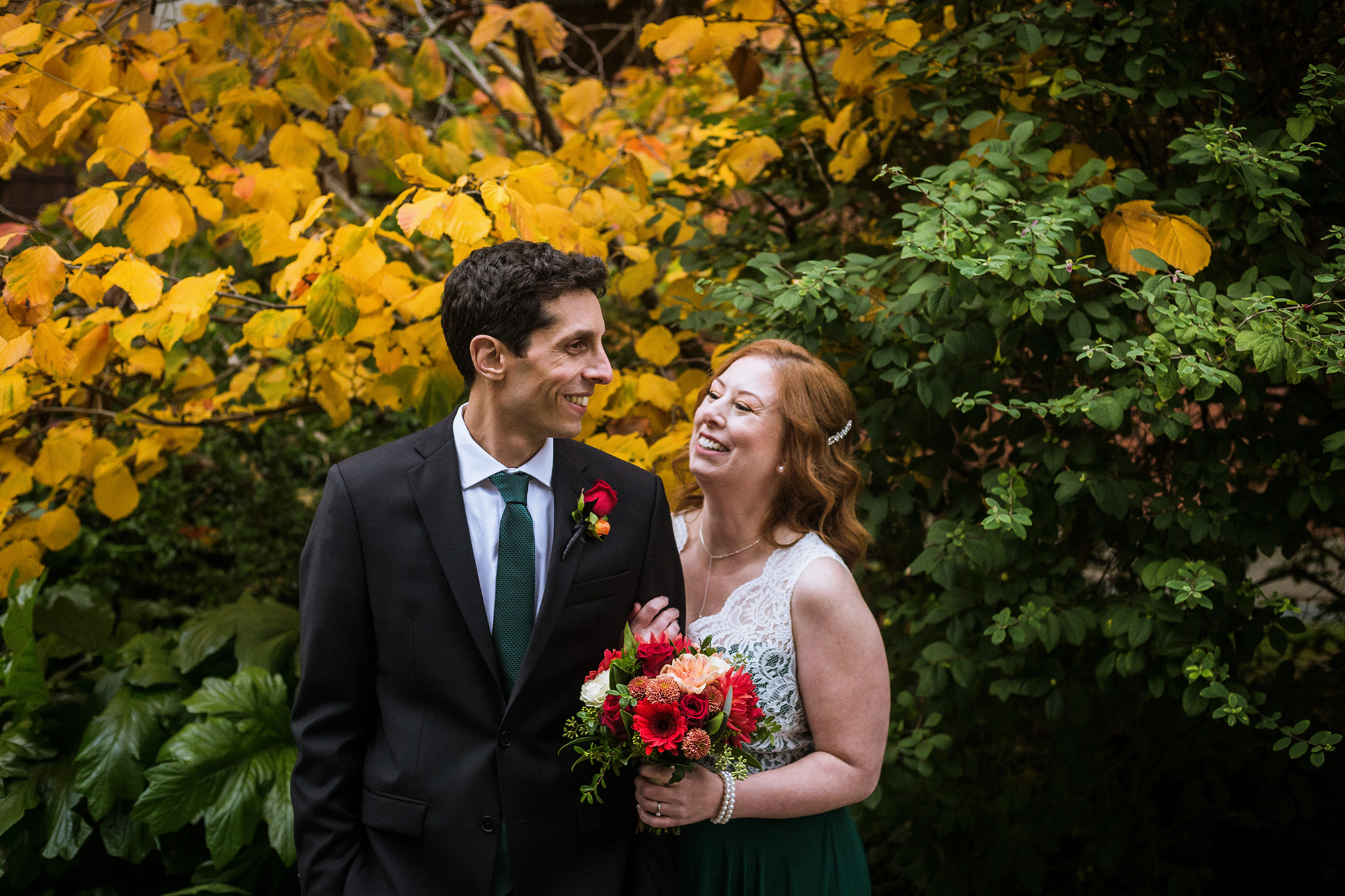 AUTUMN WEDDING AT BRIX & MORTAR
