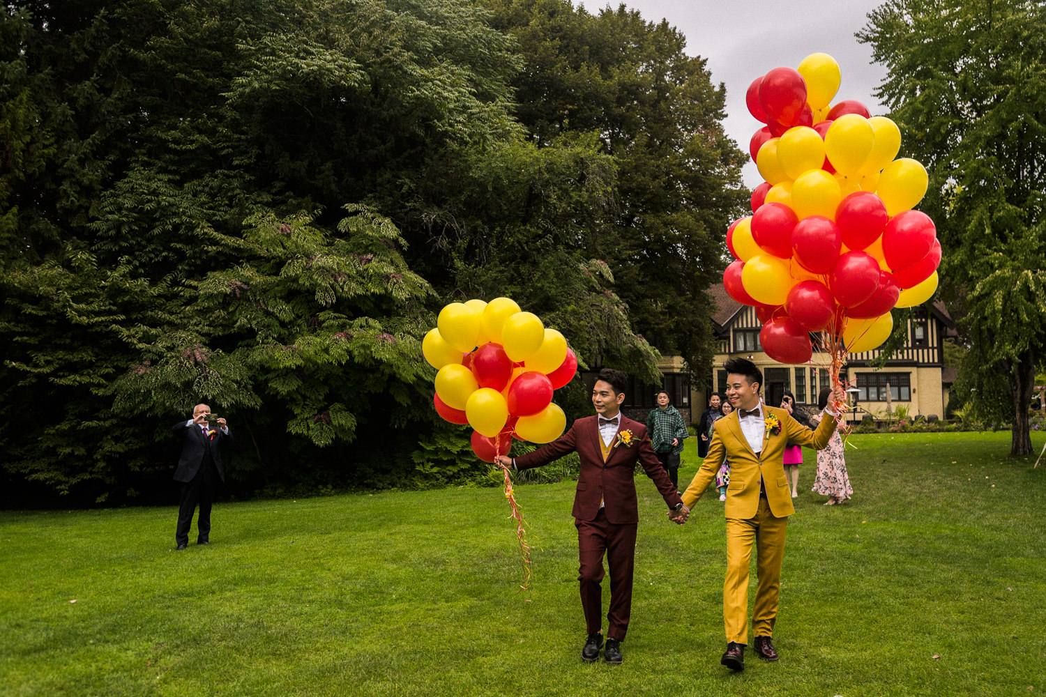 Vancouver Gay Wedding at Hart House