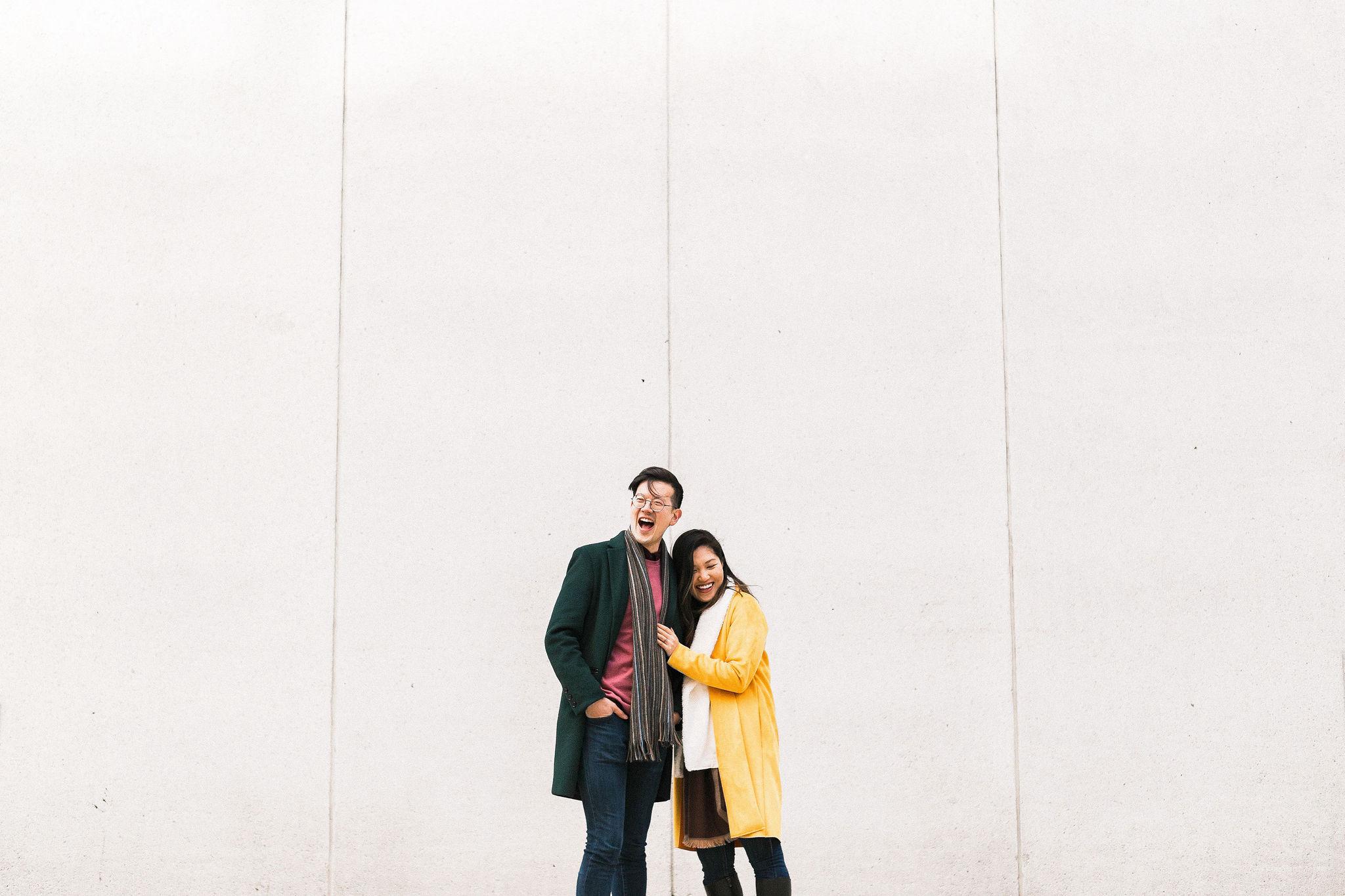 Minimal Vancouver Engagement – Christine & Kris