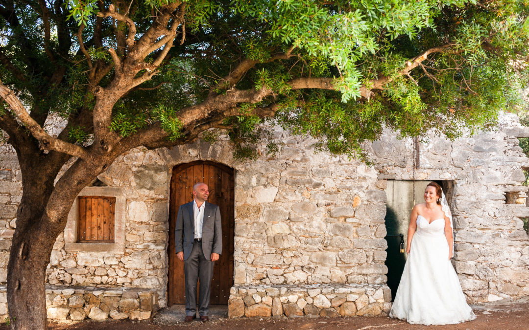 Greece Destination Wedding Photography by John Bello