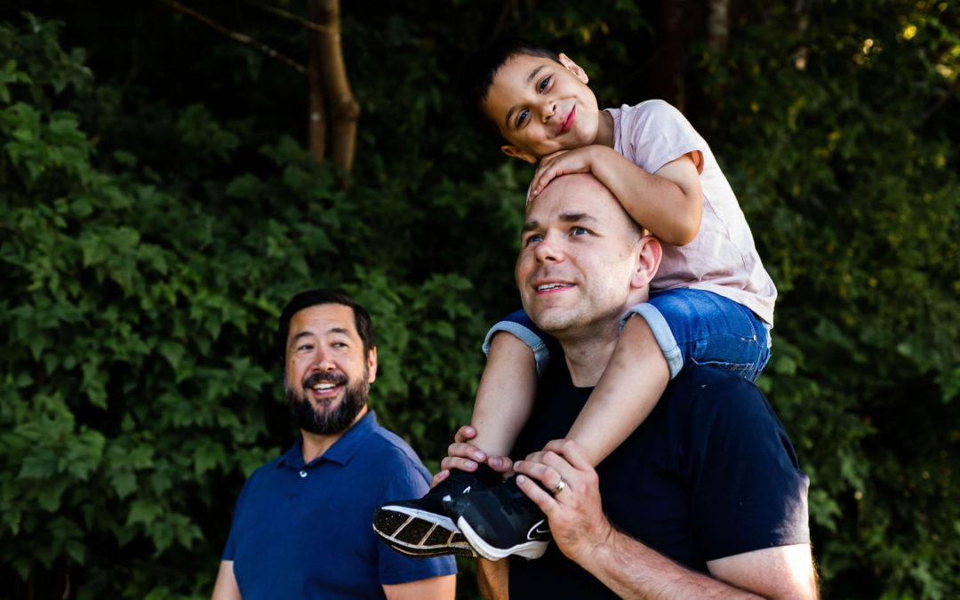 LGBTQ Family Photographer – Frank, Jason + Nik