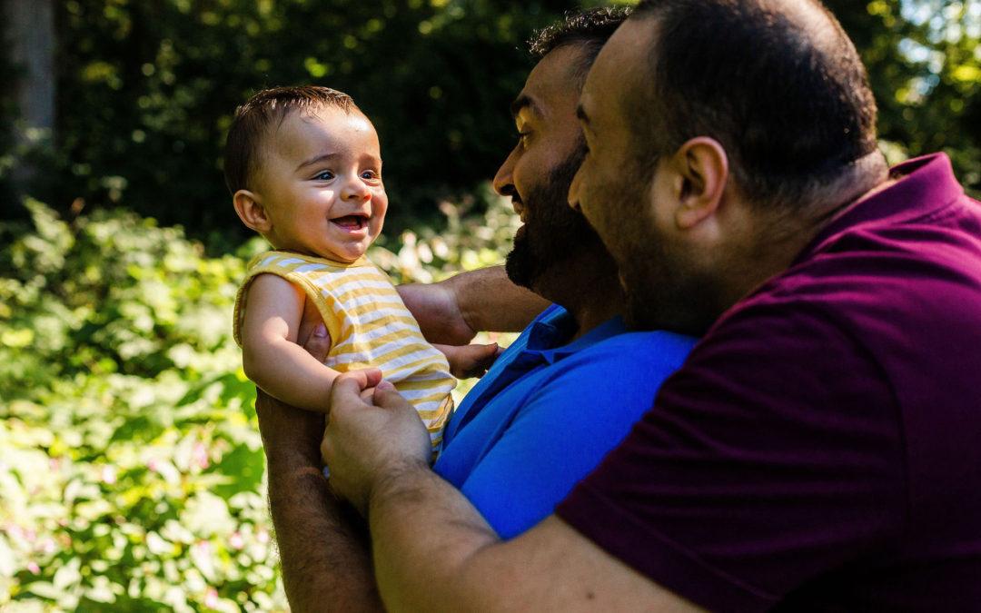 LGBTQ Family Photographer – Tarn, Hasan + Malek