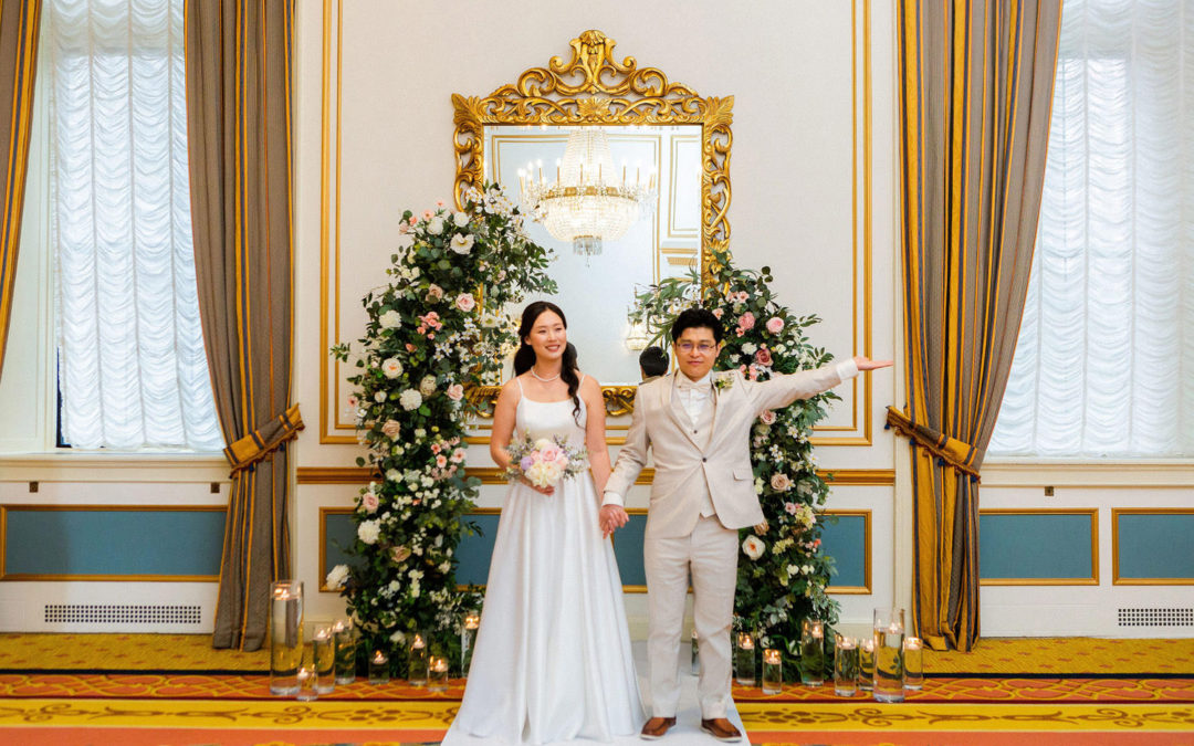 Elope With Us at Fairmont Hotel Vancouver